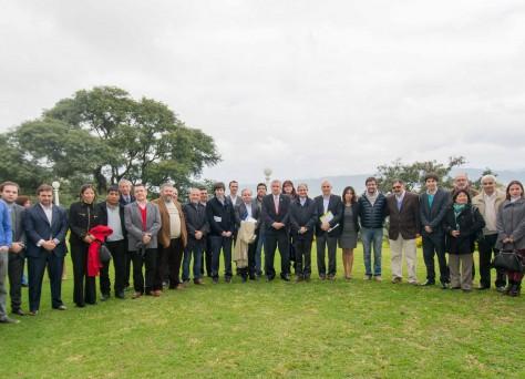Firma de Convenio de Colaboración- Lanzamiento de página oficial de Jujuy- Reunión con Municipios