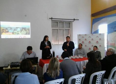 Presentación de Gobierno Abierto en San Pedro de Jujuy