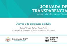 Jornada de Transparencia y Acceso a la Información