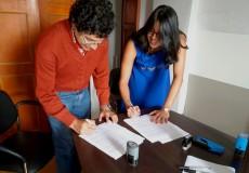Firma de Convenio con Cooperativa de Trabajo Tecnomática