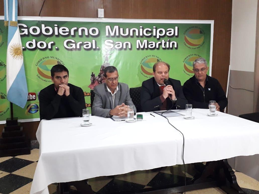 Convenio con la Municipalidad de Libertador General San Martín